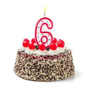 birthday cake 6 years old